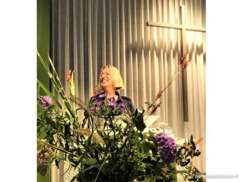 Feestelijk afscheid ds. Evelyn Quaak