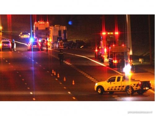 Dode bij ongeval A16