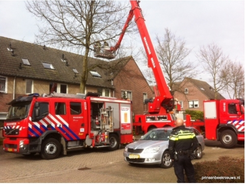 Brandje in de Boterbloemstraat