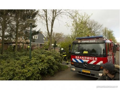 Brandweer naar Heertgank voor woningbrand